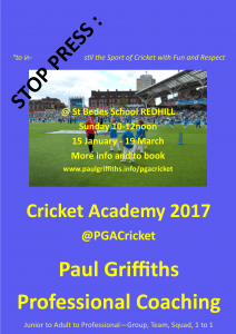 pauls-coaching-academy-pgacricket-2017-advert-a3
